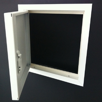 fire rated picture frame open