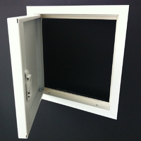 airtight access panel with picture frame
