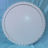 circular access panel beaded frame closed