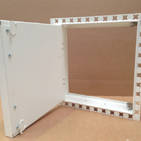 plasterboard faced access panel with push catches
