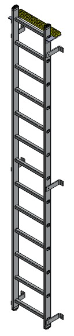 fixed vertical ladder