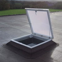 aluminium roof hatch